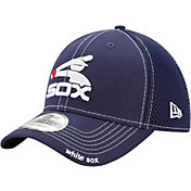 New Era Men's Chicago White Sox 39Thirty Navy Neo Stretch Fit Hat