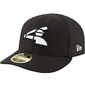 New Era Men's Chicago White Sox 59Fifty Diamond Era Black Low Crown Fitted Hat