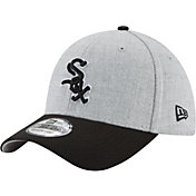 New Era Men's Chicago White Sox 39Thirty Change Up Redux Grey Stretch Fit Hat