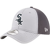 New Era Men's Chicago White Sox 39Thirty Grayed Out Grey Flex Hat