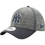 New Era Men's New York Yankees 39Thirty Clubhouse Grey/Navy Flex Hat