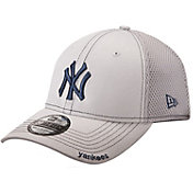 New Era Men's New York Yankees 39Thirty Neo Grey Stretch Fit Hat