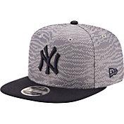 New Era Men's New York Yankees 9Fifty Weave Mix Grey Adjustable Hat