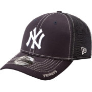 New Era Men's New York Yankees 39Thirty Neo Navy Stretch Fit Hat
