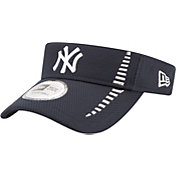 New Era Men's New York Yankees Navy Adjustable Speed Visor