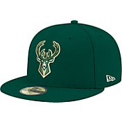 New Era Men's Milwaukee Bucks 59Fifty Green Fitted Hat