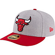 New Era Men's Chicago Bulls 59Fifty Low Crown Grey Fitted Hat