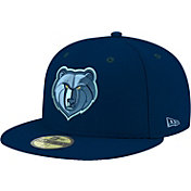 New Era Men's Memphis Grizzlies 59Fifty Navy Fitted Hat