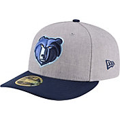 New Era Men's Memphis Grizzlies 59Fifty Low Crown Grey Fitted Hat