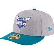 New Era Men's Charlotte Hornets 59Fifty Low Crown Grey Fitted Hat