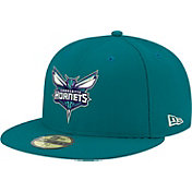 New Era Men's Charlotte Hornets 59Fifty Teal Fitted Hat