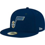 New Era Men's Utah Jazz 59Fifty Navy Fitted Hat