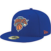 New Era Men's New York Knicks 59Fifty Royal Fitted Hat