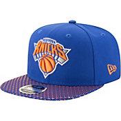 New Era Men's New York Knicks 9Fifty Multi Star Adjustable Snapback Hat