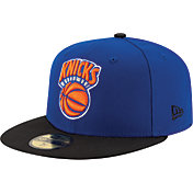 New Era Men's New York Knicks 59Fifty Hardwood Classics Royal/Black Fitted Hat