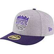 New Era Men's Sacramento Kings 59Fifty Low Crown Grey Fitted Hat