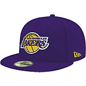 New Era Men's Los Angeles Lakers 59Fifty Purple Fitted Hat
