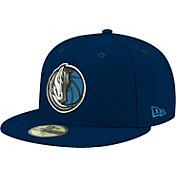 New Era Men's Dallas Mavericks 59Fifty Navy Fitted Hat