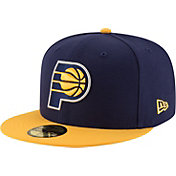New Era Men's Indiana Pacers 59Fifty Navy/Gold Fitted Hat