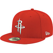 New Era Men's Houston Rockets 59Fifty Red Fitted Hat