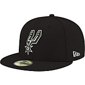 New Era Men's San Antonio Spurs 59Fifty Black Fitted Hat
