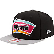 New Era Men's San Antonio Spurs 9Fifty Hardwood Classic Adjustable Snapback Hat