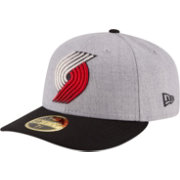 New Era Men's Portland Trail Blazers 59Fifty Low Crown Grey Fitted Hat