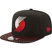 New Era Men's Portland Trail Blazers 9Fifty Multi Star Adjustable Snapback Hat