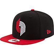 New Era Men's Portland Trail Blazers 9Fifty Black/Red Adjustable Snapback Hat