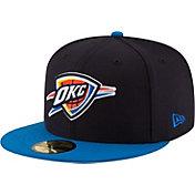 New Era Men's Oklahoma City Thunder 59Fifty Navy/Blue Fitted Hat