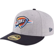 New Era Men's Oklahoma City Thunder 59Fifty Low Crown Grey Fitted Hat