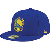 New Era Men's Golden State Warriors 59Fifty Royal Fitted Hat