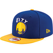 New Era Men's Golden State Warriors 9Fifty Royal Adjustable Snapback Hat