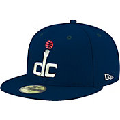 New Era Men's Washington Wizards 59Fifty Navy Fitted Hat