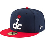 New Era Men's Washington Wizards 59Fifty Navy/Red Fitted Hat