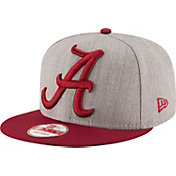 New Era Men's Alabama Crimson Tide Grey/Crimson Grand Snap 9Fifty Adjustable Hat