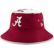 New Era Men's Alabama Crimson Tide Crimson Logo Topper Bucket Hat
