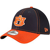 New Era Men's Auburn Tigers Blue/Orange Team Front Neo 39Thirty Stretch Fit Hat