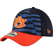 New Era Men's Auburn Tigers Blue/Orange NE 15 Stars 39Thirty Performance Hat