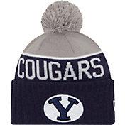 New Era Men's BYU Cougars Blue/Grey NE 15 Sport Knit Beanie