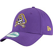 New Era Men's East Carolina Pirates Purple The League 9Forty Adjustable Hat