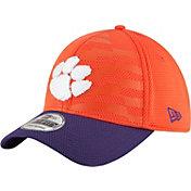 New Era Men's Clemson Tigers Orange/Regalia NE 15 Stars 39Thirty Performance Hat