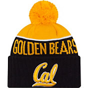New Era Men's Cal Golden Bears Blue/Gold NE 15 Sport Knit Beanie