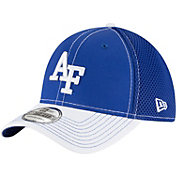 New Era Men's Air Force Falcons Team Front Blue/White Neo 39Thirty Stretch Fit Hat