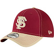New Era Men's Florida State Seminoles Garnet/Gold Team Front Neo 39Thirty Stretch Fit Hat