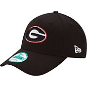 New Era Men's Georgia Bulldogs Black 9Forty League Adjustable Hat