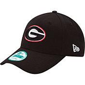 New Era Men's Georgia Bulldogs Black 9Forty League Adjustable Hat