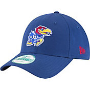 New Era Men's Kansas Jayhawks Blue The League 9Forty Adjustable Hat