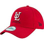 New Era Men's Louisiana-Lafayette Ragin' Cajuns Red The League 9Forty Adjustable Hat