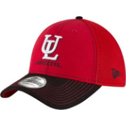 New Era Men's Louisiana-Lafayette Ragin' Cajuns Team Front Red/Black Neo 39Thirty Stretch Fit Hat